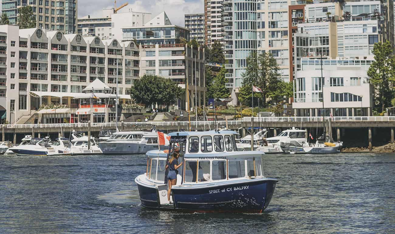 false creek ferrys